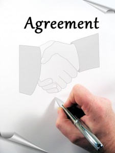 shaking hands agreement