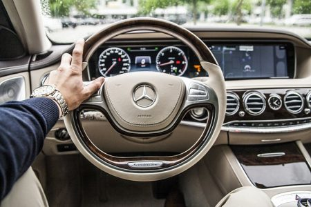 steering wheel mercedes